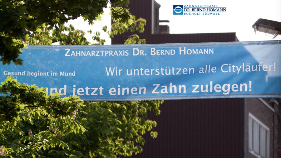 Zahnarzt Dr. Homann Bocholt - Citylauf Bocholt