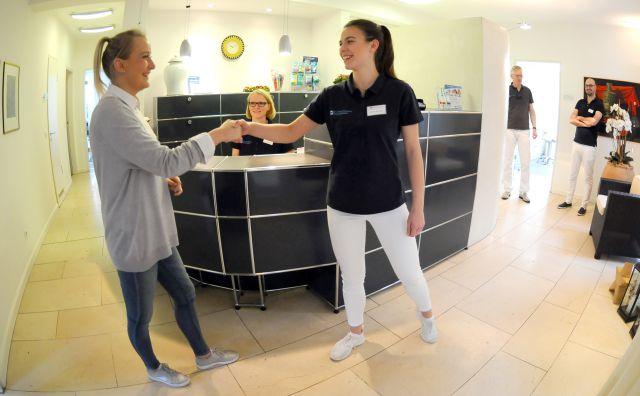 Zahnarzt Dr. Homann Bocholt - Empfang