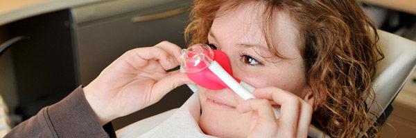 Zahnarzt Dr. Homann Bocholt - Lachgas